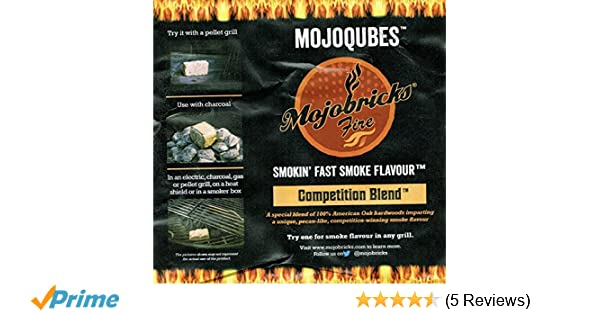 Mojobricks Minis Competition Blend Hardwood 100/% American Oak with Pecan Essence