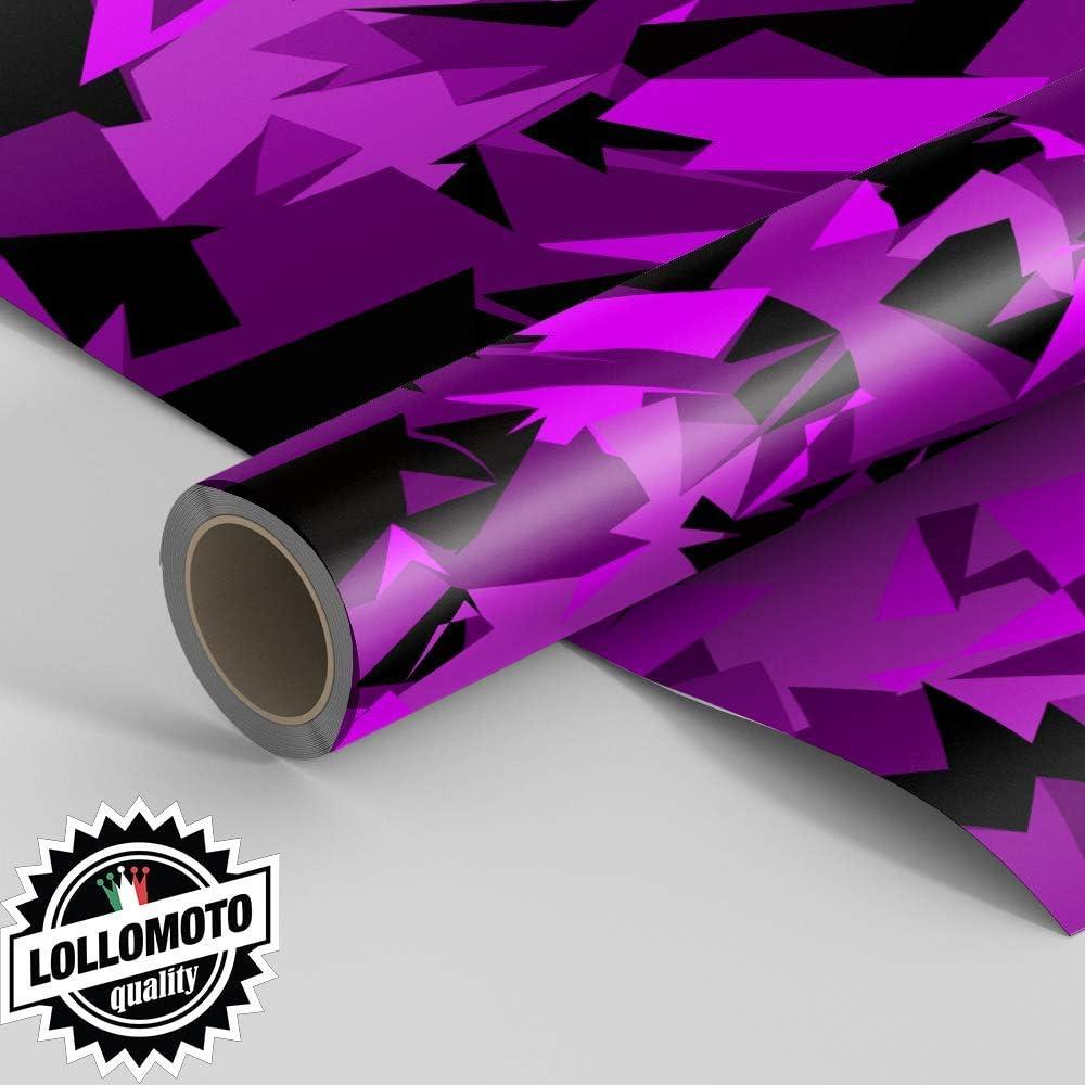 38x50cm Generico Pellicola Abstract Pink Military Camouflage Pellicola Car Wrapping Adesiva Rivestimento Auto LOLLOMOTO