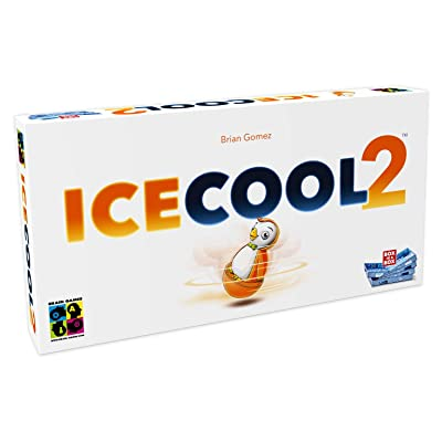 BRAIN GAMES - Icecool2 Family Board Game - A Fast & Fun Penguin Flicking Game - Standalone Game or ICECOOL Expansion - Ideal For Parties & Families with Kids, Teenagers & Adults: Toys & Games