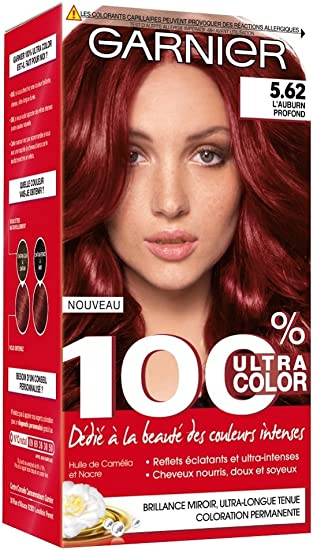Garnier - 100% Ultra Color - Coloración permanente Auburn ...