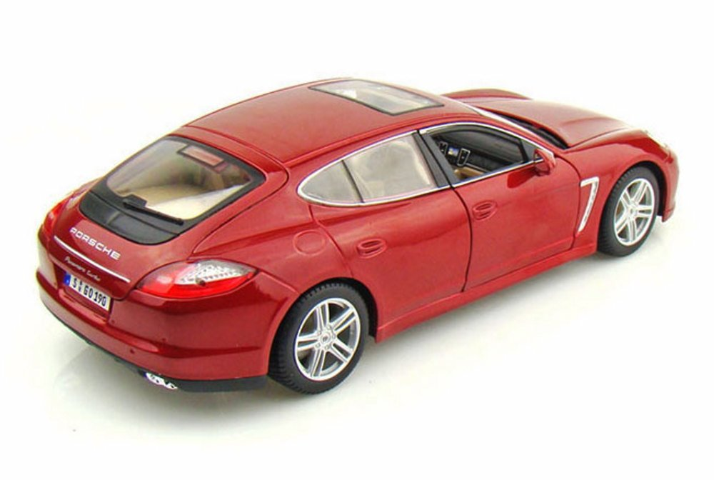 Amazon.com: Porsche Panamera, Red - Maisto Premiere 36197 - 1/18 Scale Diecast Model Toy Car: Toys & Games