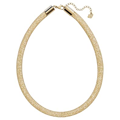 eb63adcef7861 Swarovski Women Necklace Deluxe Stardust Crystal Gold 42 cm 5180852 ...