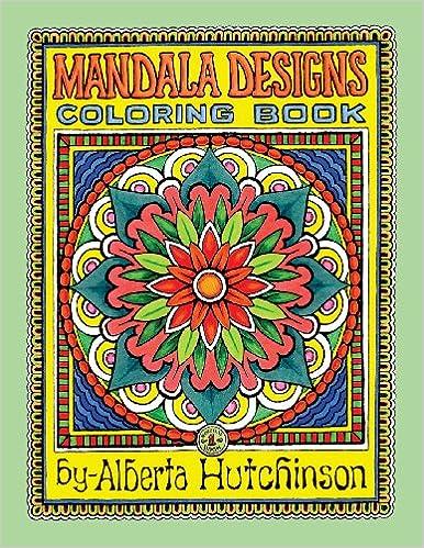 New Coloring Book : Amazon.com: mandala designs coloring book no. 1: 35 new