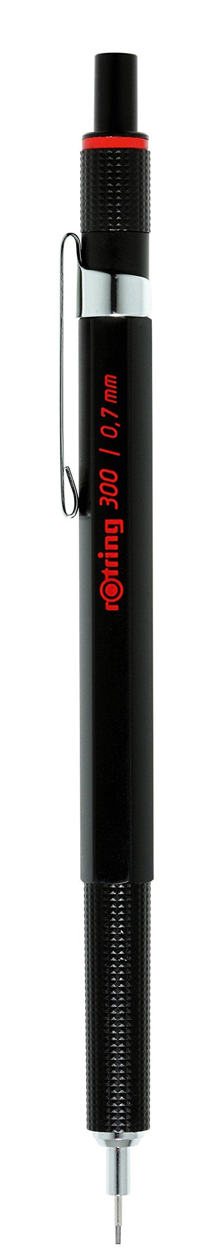 Rotring 300 Portaminas 0,7mm Negro