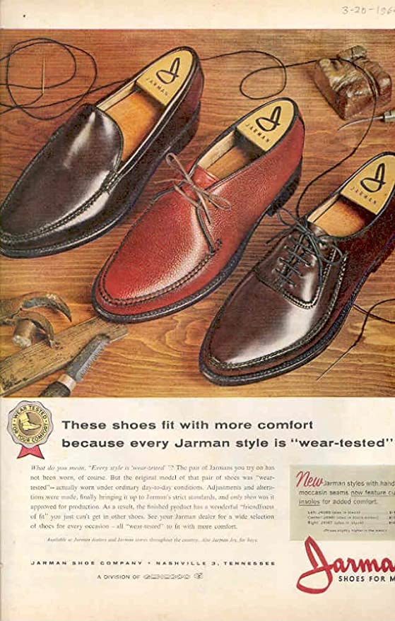 Amazon.com: 1964 Ford Econoline Van Ad Jarmin Shoes: Entertainment Collectibles