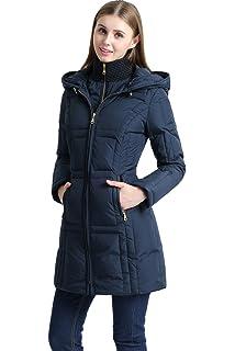 6e66a2064403 Amazon.com  BGSD Women s Addi Waterproof Down Parka Coat (Regular ...