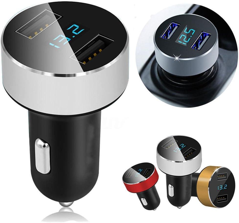 bqmqolove Cargador Dual del Coche USB de los Puertos 3.1A ...