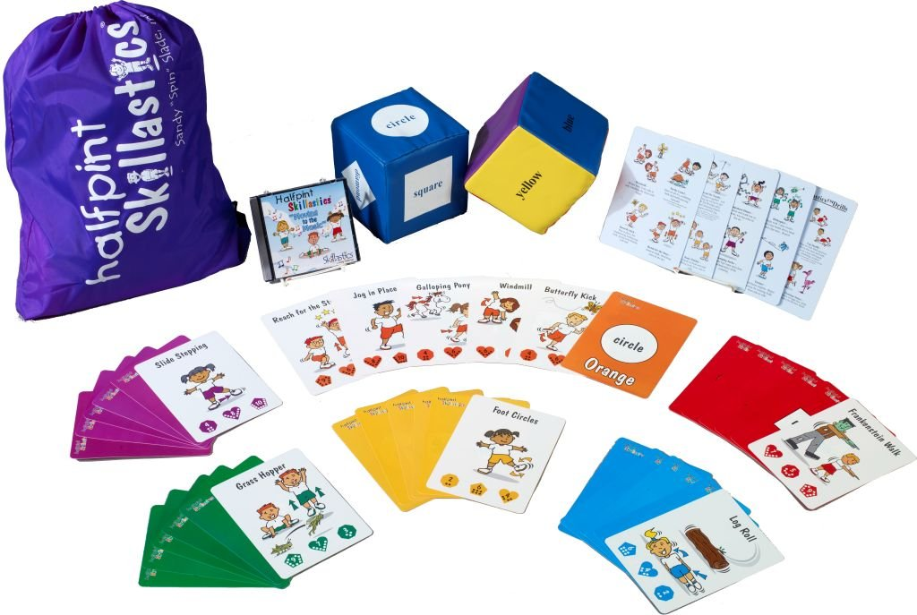 Halfpint Skillastics - Introduces Age Appropriate Physical Activities While Encouraging Creativity and Imagination for Young Children