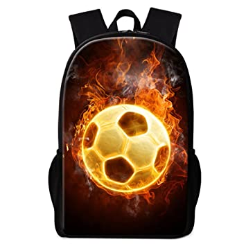 8e57ba2c8 Amazon.com | Dispalang Soccer Backpack for Boys Teenagers Football ...