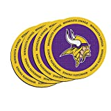 NFL Minnesota Vikings Neoprene Ring of Honor Coasters, Set of 4