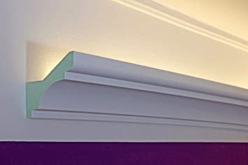 Klassisches Led Stuck Profil Lichtvouten Stuckleiste Fur Indirekte