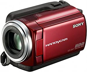 Sony DCR-SR47 Hard Disk Drive Handycam Camcorder (Red) (Discontinued by Manufacturer)