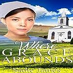 Where Grace Abounds: An Amish Widow Romance   Sadie James
