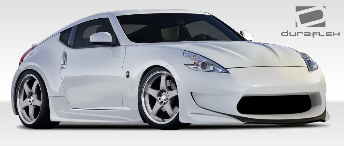 Amazon.com: 2009-2017 Nissan 370Z Duraflex AMS-GT Body Kit - 4 Piece ...
