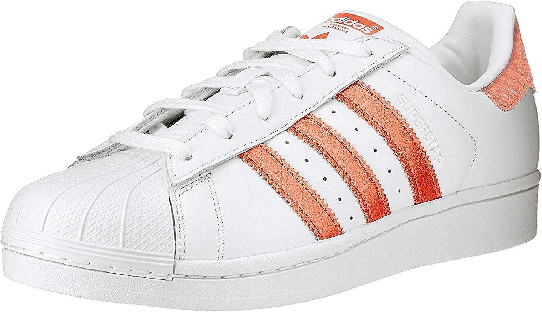 adidas Superstar Zapatillas de Deporte, Mujer, Color Coral