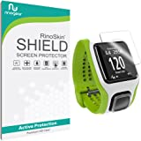 [6-PACK] TomTom Runner Screen Protector Full Coverage [Military-Grade] RinoGear Premium HD Invisible Clear Shield Anti-Bubble