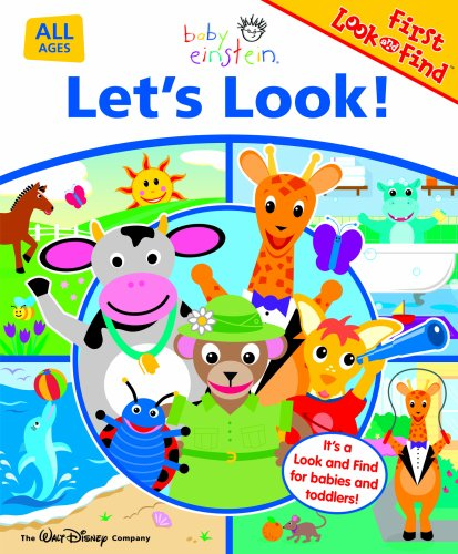 Let's Look! (Baby Einstein First Look and Find) (Baby First Tv Characters)