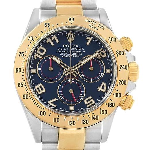Rolex Daytona Automatic-Self-Wind 116523 - Reloj para Hombre (Certificado prepropietario)