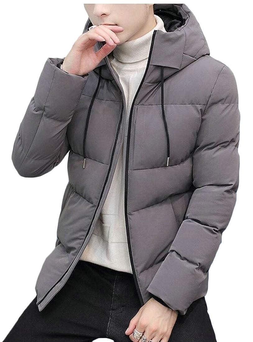 633420f30 Gery Qiangjinjiu Men's Warm Down Coat Solid Winter Winter Winter ...
