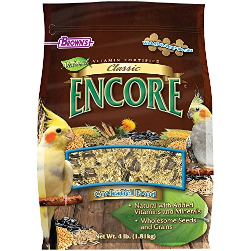 F.M.BROWN'S Encore Classic Natural Cockatiel ()