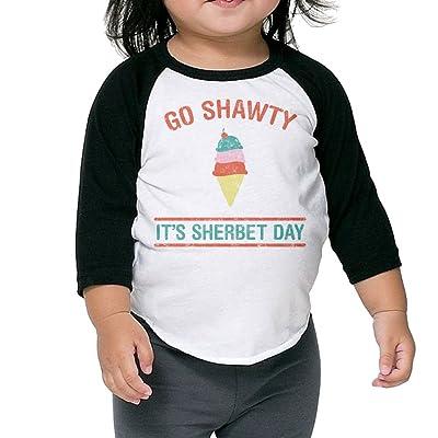 SH-rong Go Shawty, It's Sherbert Day Kids Round Collar Tshirt