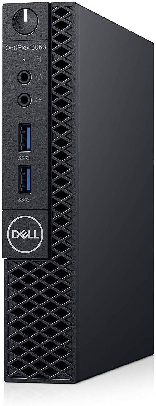 Dell OP3060MFFXKF5K OptiPlex 3060 XKF5K Micro PC with Intel Core i5-8500T 2.1 GHz Hexa-core, 8GB RAM, 256GB SSD, Windows 10 Pro 64-bit (Renewed)