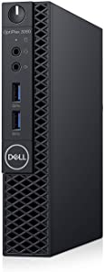 Dell OP3060MFFXKF5K OptiPlex 3060 XKF5K Micro PC with Intel Core i5-8500T 2.1 GHz Hexa-core, 8GB RAM, 256GB SSD, Windows 10 Pro 64-bit (Renewed)
