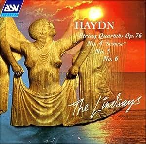 Haydn: String Quartets Op.76 Nos. 4, 5, & 6