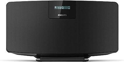 Philips M2505/10 Radio Bluetooth, Despertador Radio (Dab+/FM, Bluetooth multisincronización, Entrada de Audio, Controladores de Rango Completo de 2,75