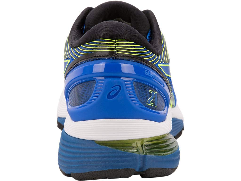ASICS Men's Gel-Nimbus 21 Running Shoes, 6.5M, Illusion Blue/Black by ASICS (Image #5)