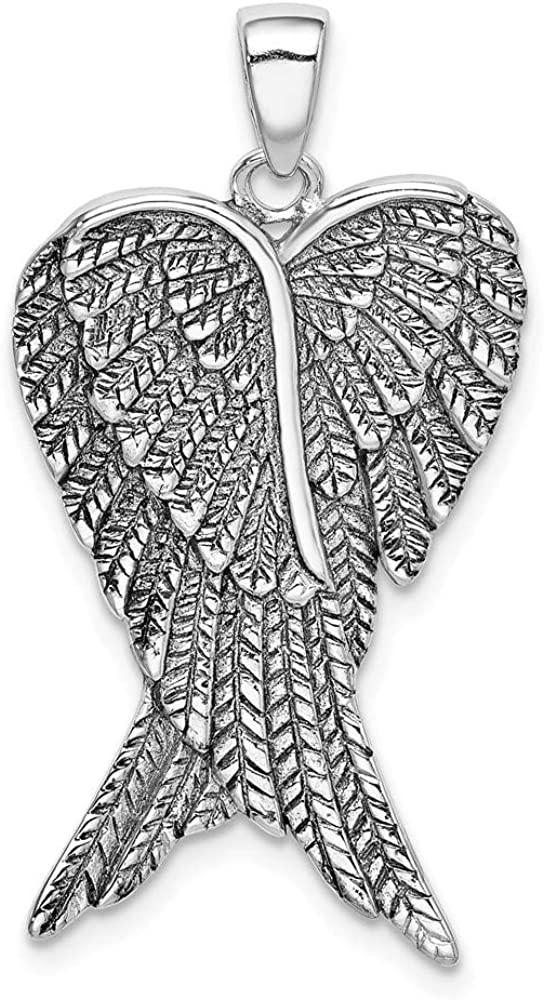 18.5mm 925 Sterling OFFicial store Daily bargain sale Silver Engravable plated Religious G Rhodium