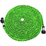 Best Hose Expandables - KLAREN Expandable Garden Hose, 50ft Strongest Expanding Garden Review