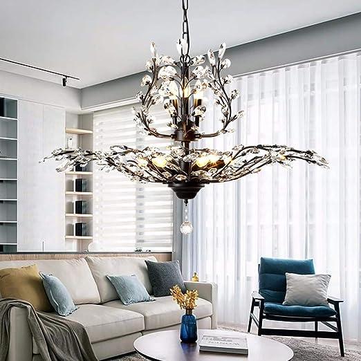 luz blanca gotas de lluvia en blanco y negro iluminaci/ón moderna para habitaciones de ni/ños L/ámpara de techo LED negro 40 cm * 50 cm