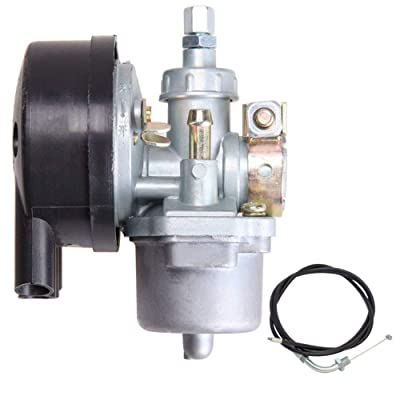 Bike Engine Carburetor for 80cc 66cc 60cc 50cc 49cc 2 Stroke Bicycle Motorized Engine: Automotive