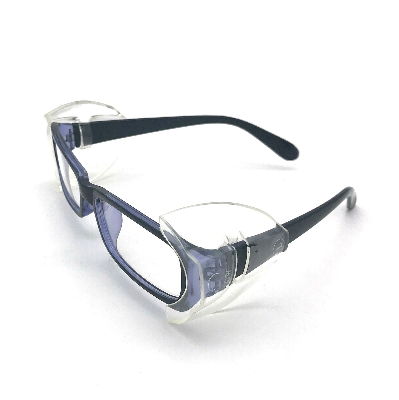 Wommty 2 Pair Safety Classes Flexible Clear Side Shields - Fits Small To Medium Eyeglasses (M) Wommty EU