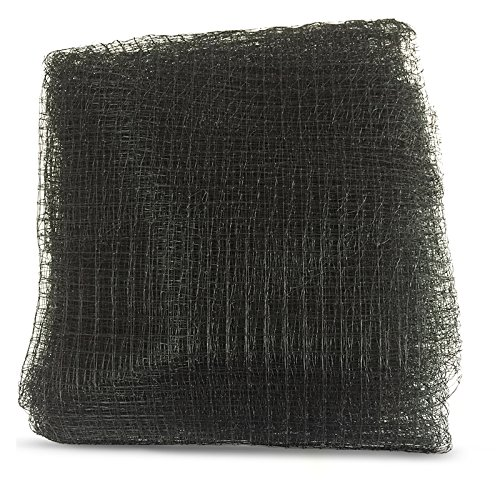 ZENDA Black 7FTx100FT (2x30.5m)12mmx12mm Heavy Anti Deer Netting DeerBlock Net Garden fence and Protective Fencing for Garden