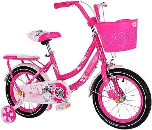 SGMYMX Bicicleta para niños Princesa Estudiante Bicicleta niño ...
