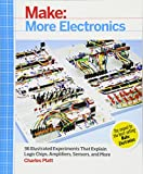 img - for Make: More Electronics: Journey Deep Into the World of Logic Chips, Amplifiers, Sensors, and Randomicity book / textbook / text book