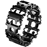 Leatherman TREAD Metrisch schwarz black Armband Multitool Edelstahl (metrische Werkzeuge)