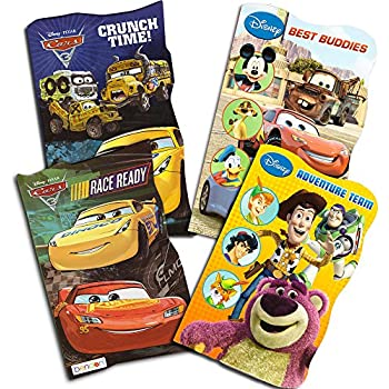 disney cars board books set kids toddlers 4 books disneypixar