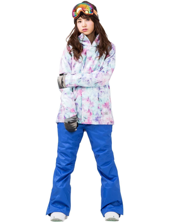 DLITE(ディライト) スノーボードウェア スキーウェア レディース 上下セット 全18パターン ジャケット パンツ セット B07JJ4C98S Mサイズ|35.JJK×BLPT 35.JJK×BLPT Mサイズ