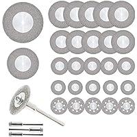 Ruedas de corte, ETSAMOR 32pcs Discos diamantados 16/20/22/25/30/40/50/60mm