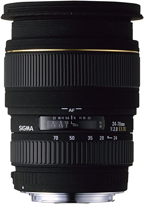 Sigma 24-70 mm/F 2,8 EX/DG/ASP./Macro: Amazon.es: Electrónica