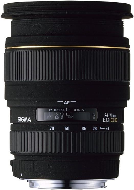 Sigma 24 70mm F2 8 Ex Dg Makro Objektiv Für Canon Kamera