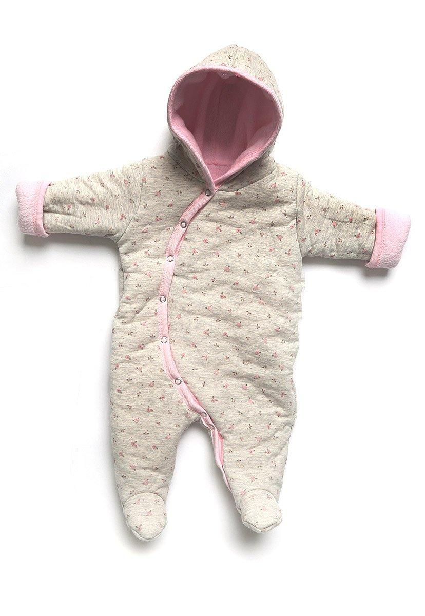 b21a581c9107 Baby Creysi Mameluco Reversible Rosa Gris Mameluco para Niñas Rosa Talla 12  M  Amazon.com.mx  Ropa