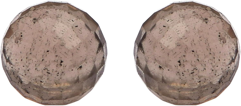 Shine Jewel Pendientes de plata, pendientes de botón de amor de piedra 925 de plata esterlina con múltiples botones para mujer