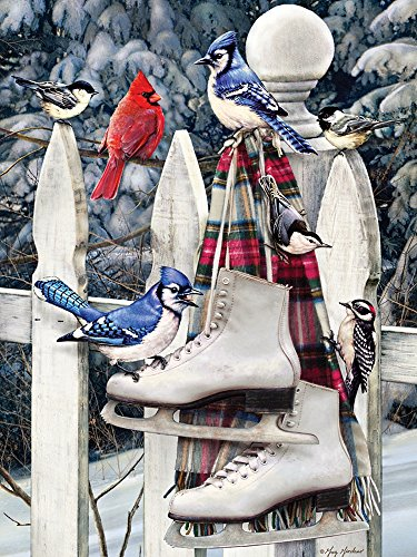 Cobble Hill Birds with Skates Jigsaw Puzzle, 500-Piece