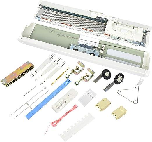 Neufday Máquina de Tejer electrónica, Kit de máquina de Tejer ...