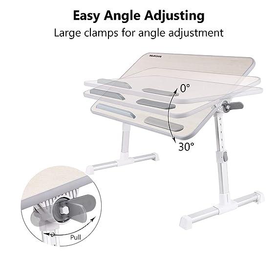 Amazon.com: Nearpow Bandeja y mesa para laptop, para cama ...