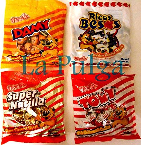 Ricos Besos Candy Damy Ricos Besos 4 oz
